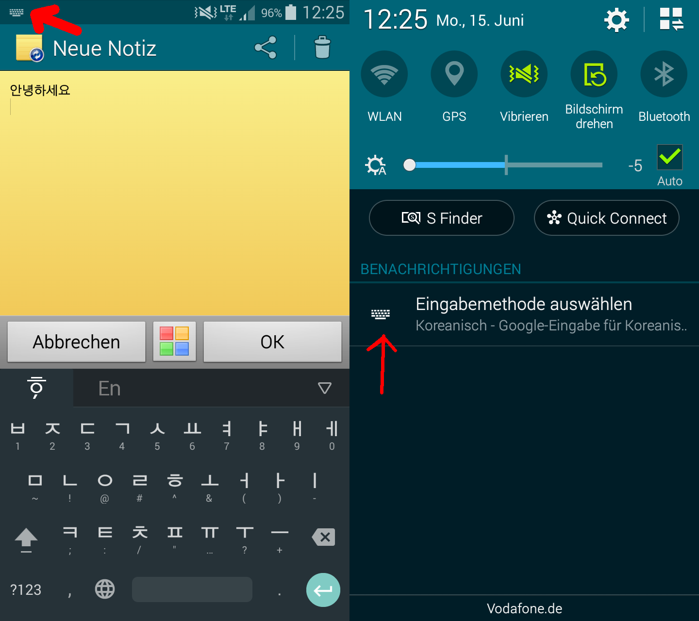 How to install Korean Hangul keyboard on Windows, Android and iPhone